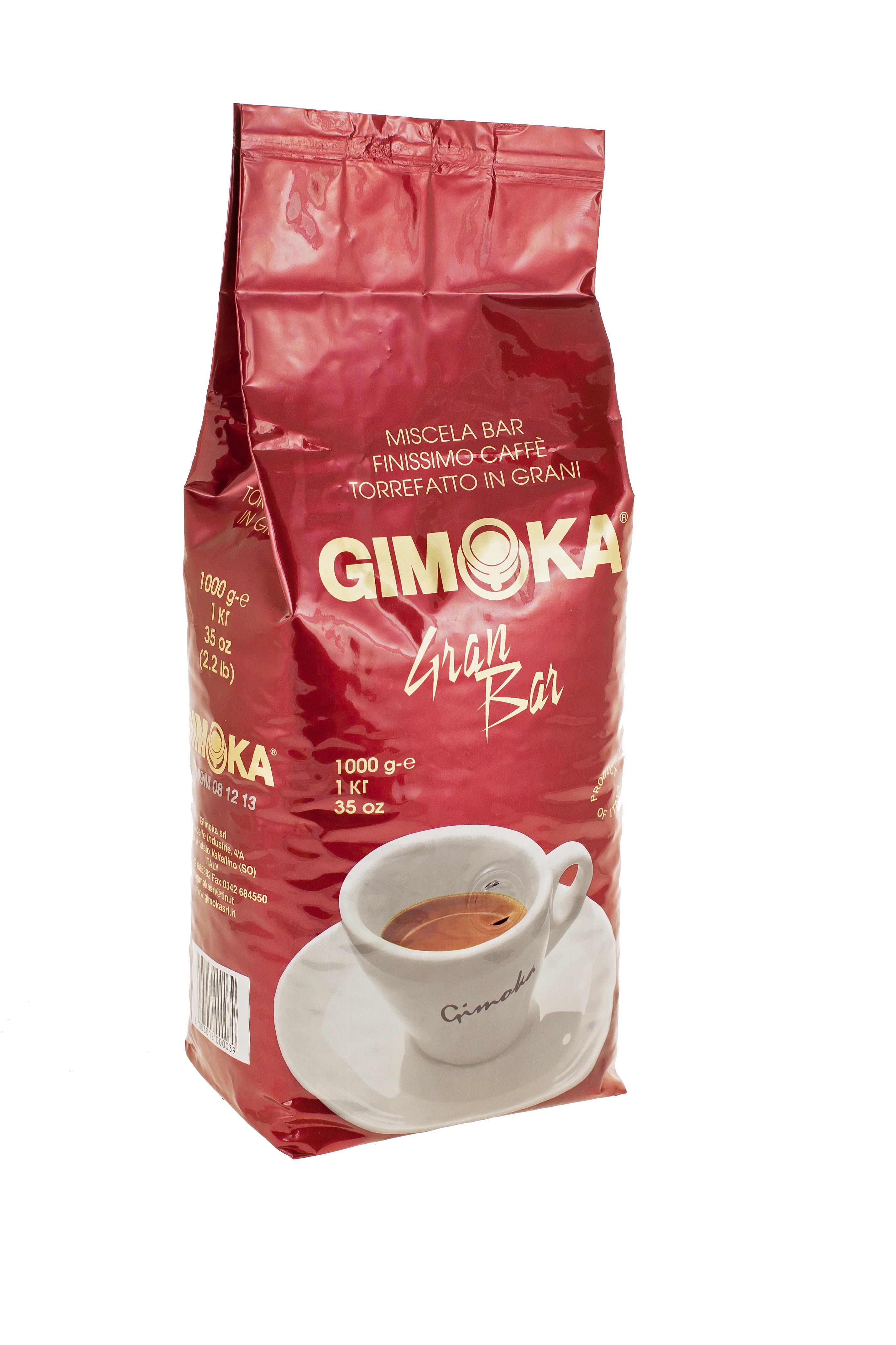 1 kg Gimoka Gran Gusto őrölt kávé